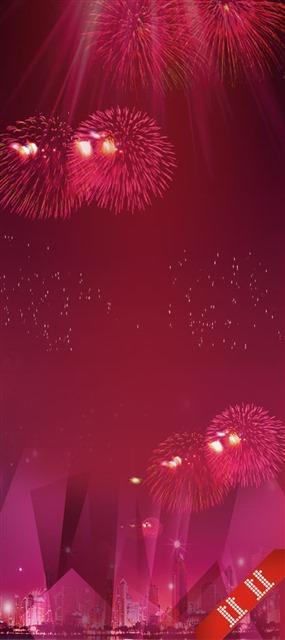 春节烟花图片