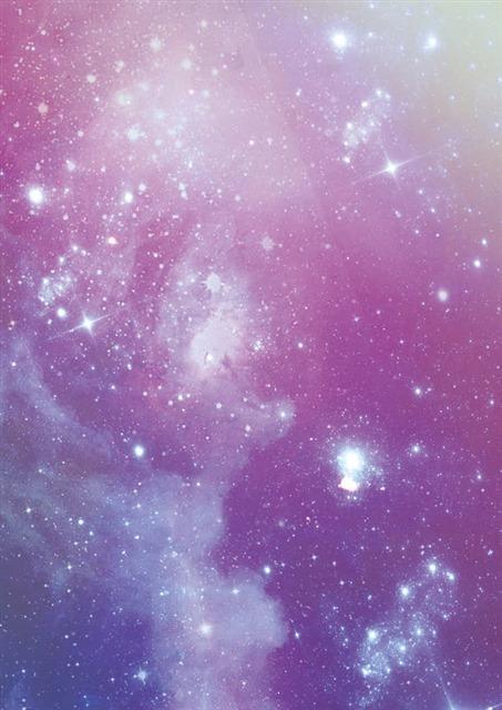 紫色唯美星空背景壁纸图片