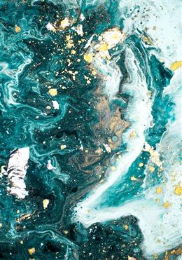 质感油彩纹理背景图
