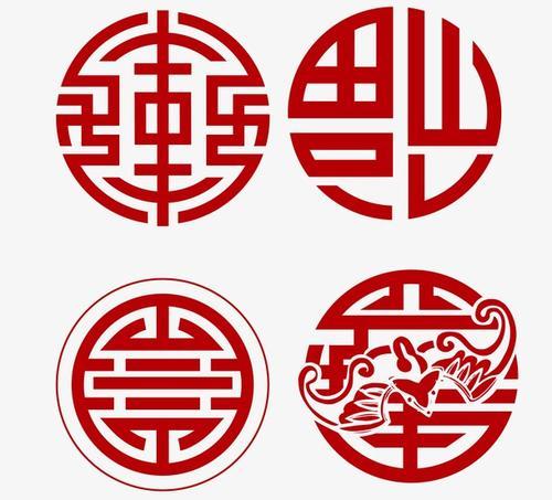 传统中国风花纹图案