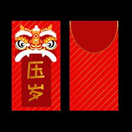 创意新年红包元素