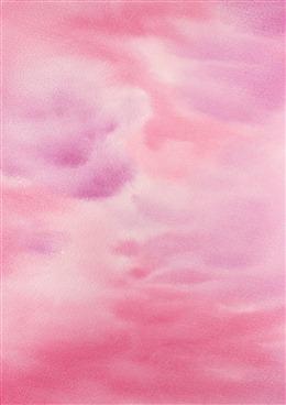 粉色水彩晕染背景图片