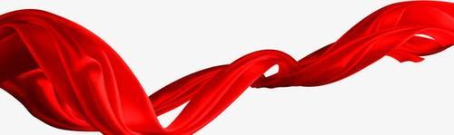 党政党建红绸带
