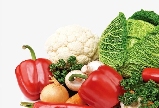 瓜果蔬菜免抠矢量图