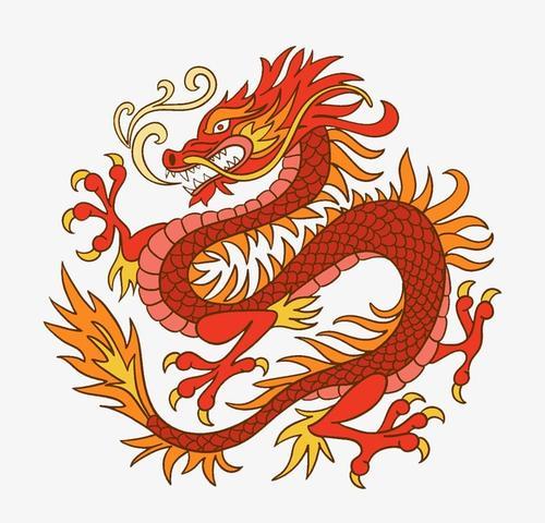 中华神龙图片