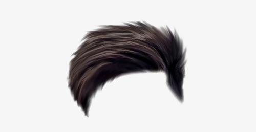 ps男士头发素材