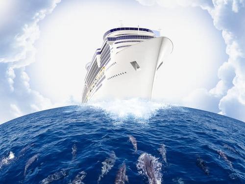 扬帆起航一路乘风破浪的图片