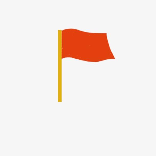 党建红色小红旗