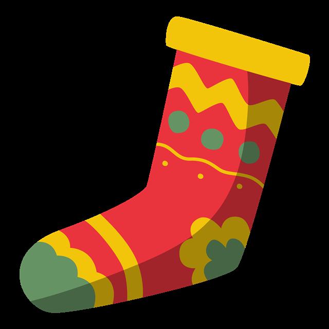 圣诞节卡通圣诞袜