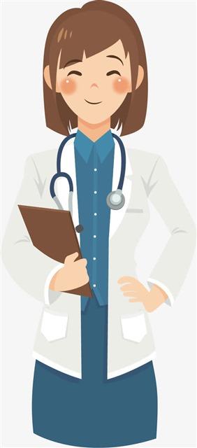 女医生人物图片
