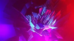 电商立体几何背景