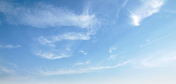 蓝天云朵天空背景