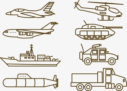 各种运输工具