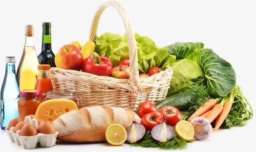 各种新鲜的蔬菜水果