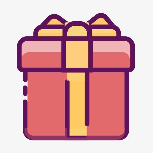 新年礼盒图标