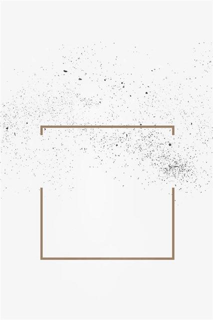 黑色简约边框素材