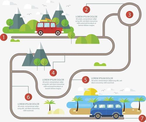 城市公交路线图