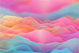 粉色横屏壁纸高清图片