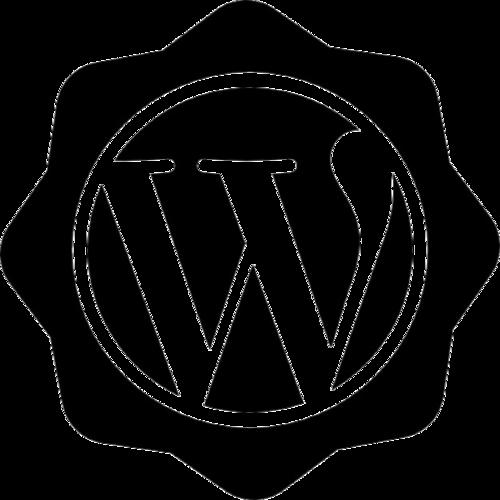 WordPress徽标图案