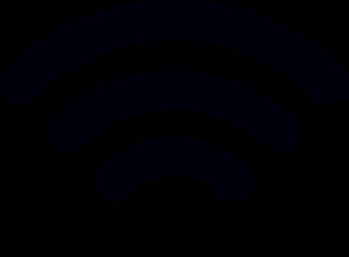 WiFi黑色logo标志