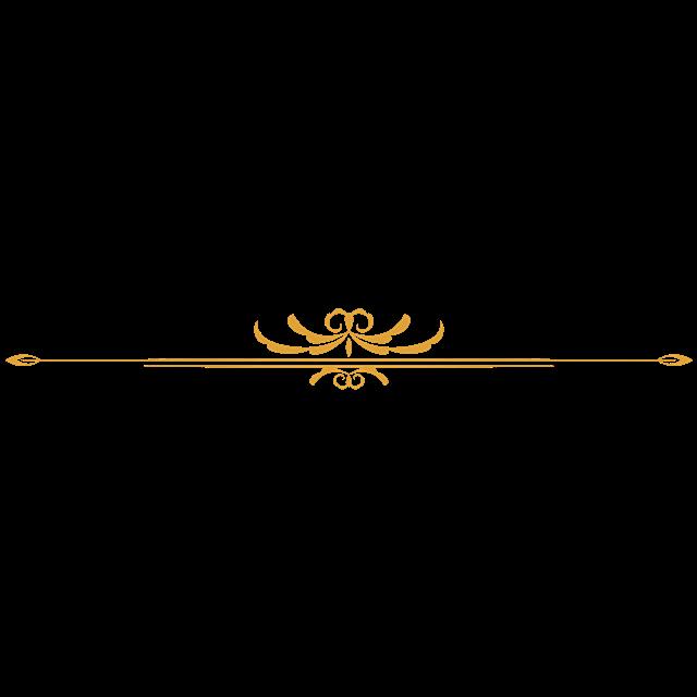 金色花瓣边框素材