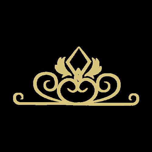 金色花纹装饰图案