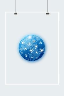 互联网地球logo