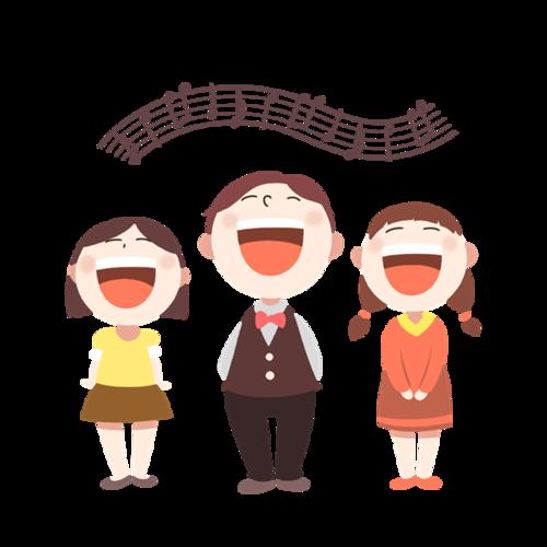 少儿培训班唱歌声乐和声人物