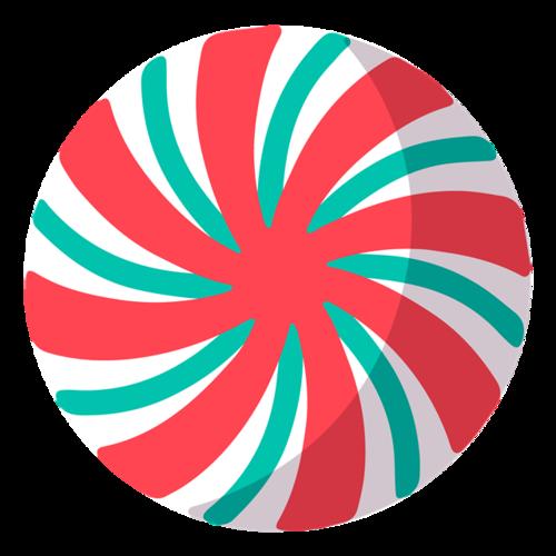 圆形条纹图案
