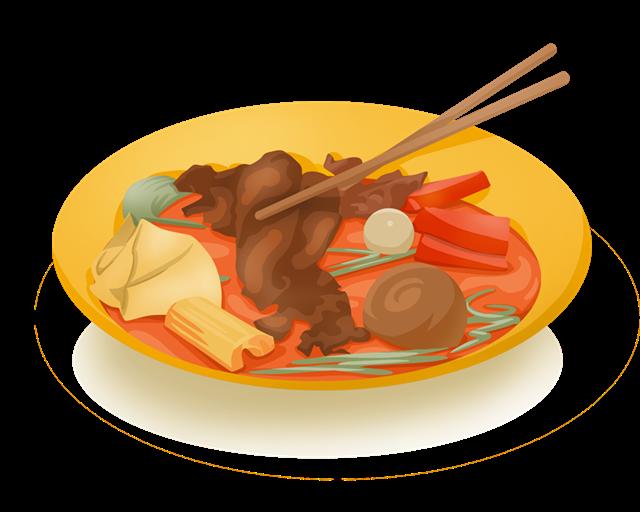 麻辣烫logo图片