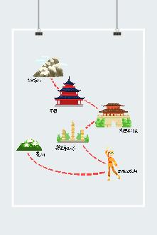 云南旅游景点路线