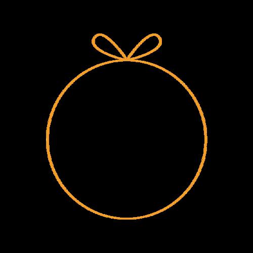 金丝圆形边框