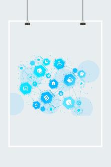 互联网科技图案