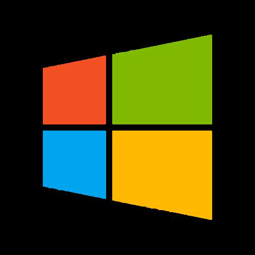 卡通微软logo