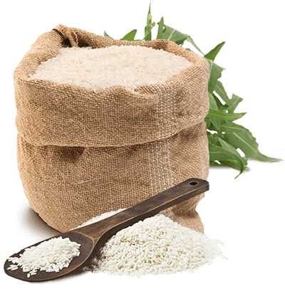 白色大米粮食