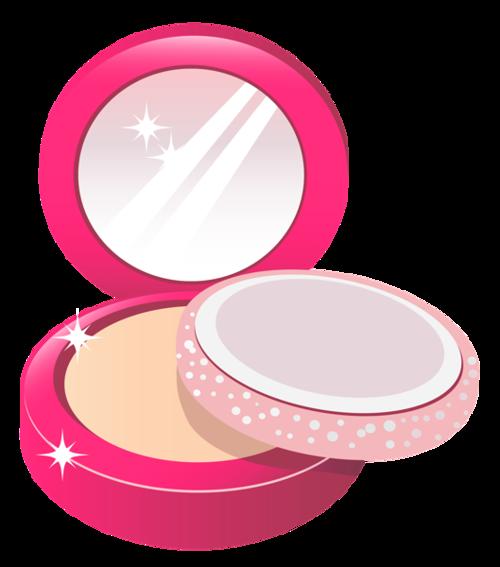粉色少女心美妆产品