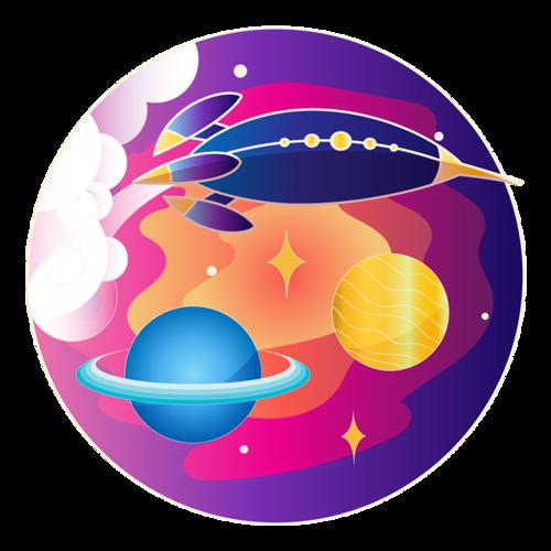 科技星球图案