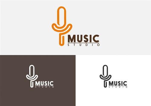 音乐社团logo设计图片