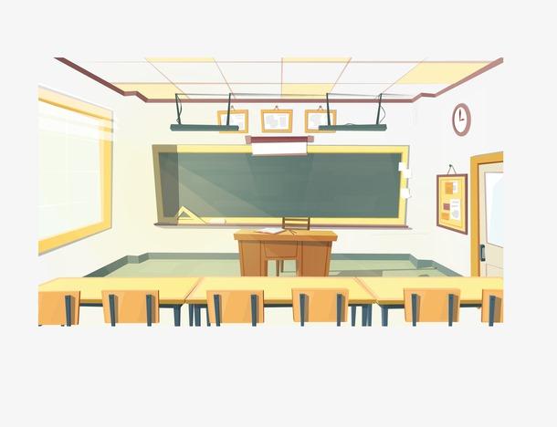 学校教师场景图