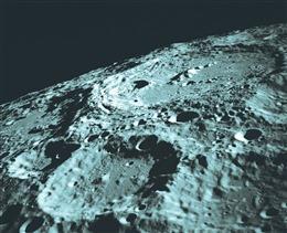 月球表面高清全景图