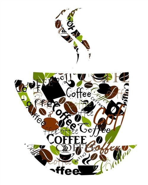 咖啡素材图