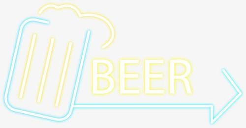 啤酒节海报装饰素材