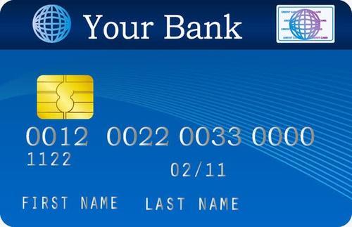 银行卡真实图片