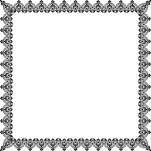 欧式边框贵族花纹