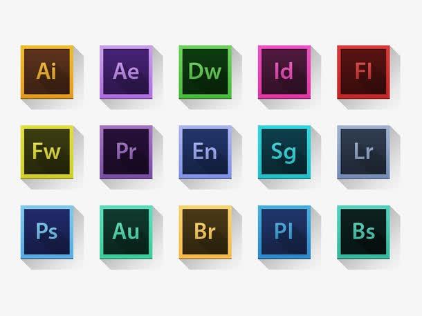 Adobe全家桶图标