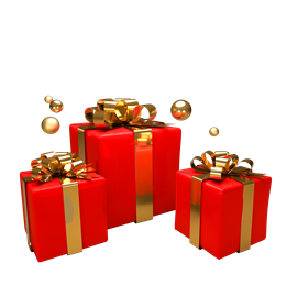 红色高档礼盒图片
