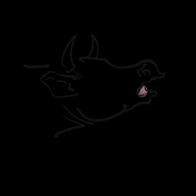牛年生肖设计图片