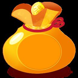 金色红包福袋