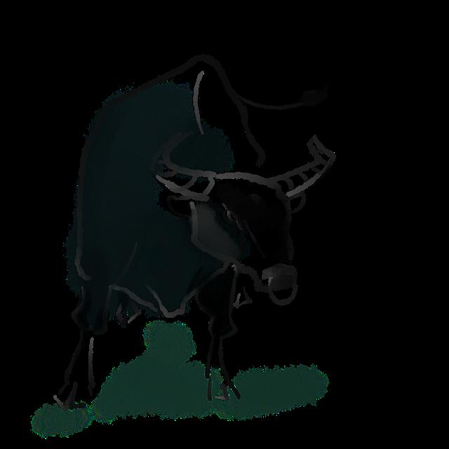 2021牛年牛气冲天图片