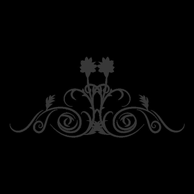 古典线条花纹图案